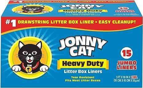 Jonny Cat Cat Litter Box Liners 5 Box