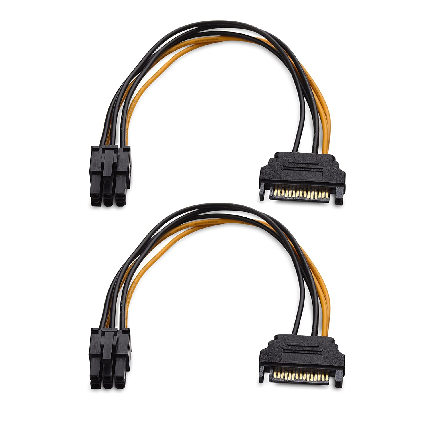 6 pin to 3x SATA  DRIVER POWER cable