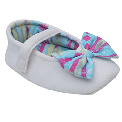 2fae2a000e9 D chica Fancy Hosiery Cute Little Loafer Booties for Baby Girls - (Age  Recommendation