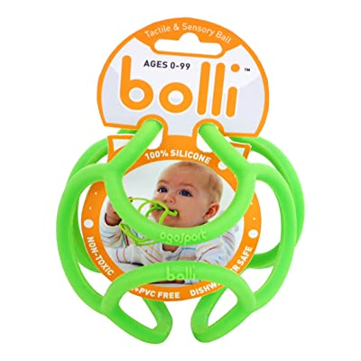 OgoSport Bolli - Flexible Teether Ball (Assorted, Colors May Vary): Toys & Games