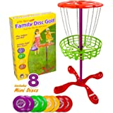 Little Flyers Family Disc Golf with 8 Mini Discs by K-Roo Sports