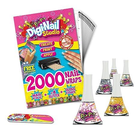 Amazon Digi Nail Studio Party Pack Diy Nail Art Wraps With