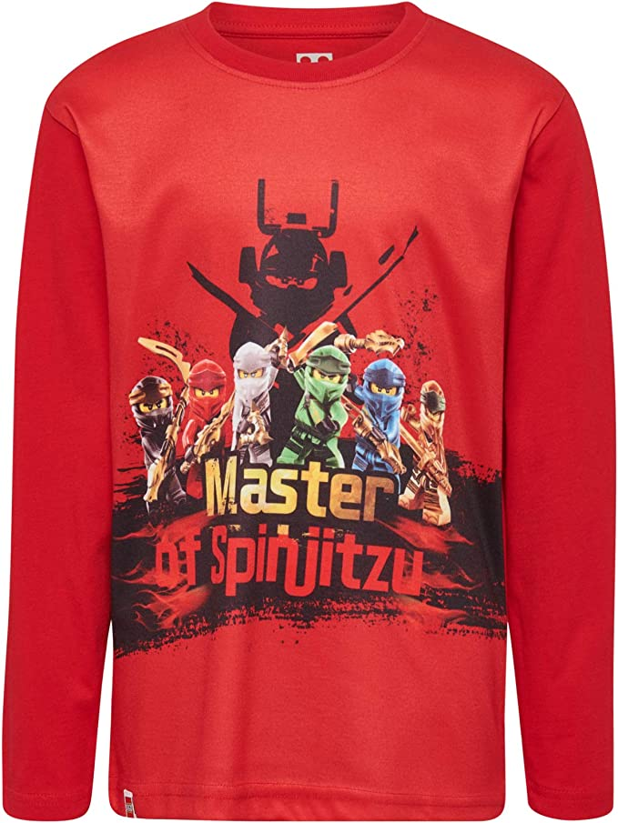 Lego Boys Ninjago cm Long Sleeve Top