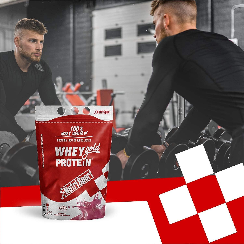 NutriSport Whey Gold Protein - 500 gr: Amazon.es: Salud y ...