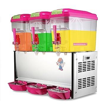 HPcutter Dispensador de Bebidas Drink Dispenser Juice Dispenser Beverage Dispenser y Enfriador 14.25 Galón Cold Fruit
