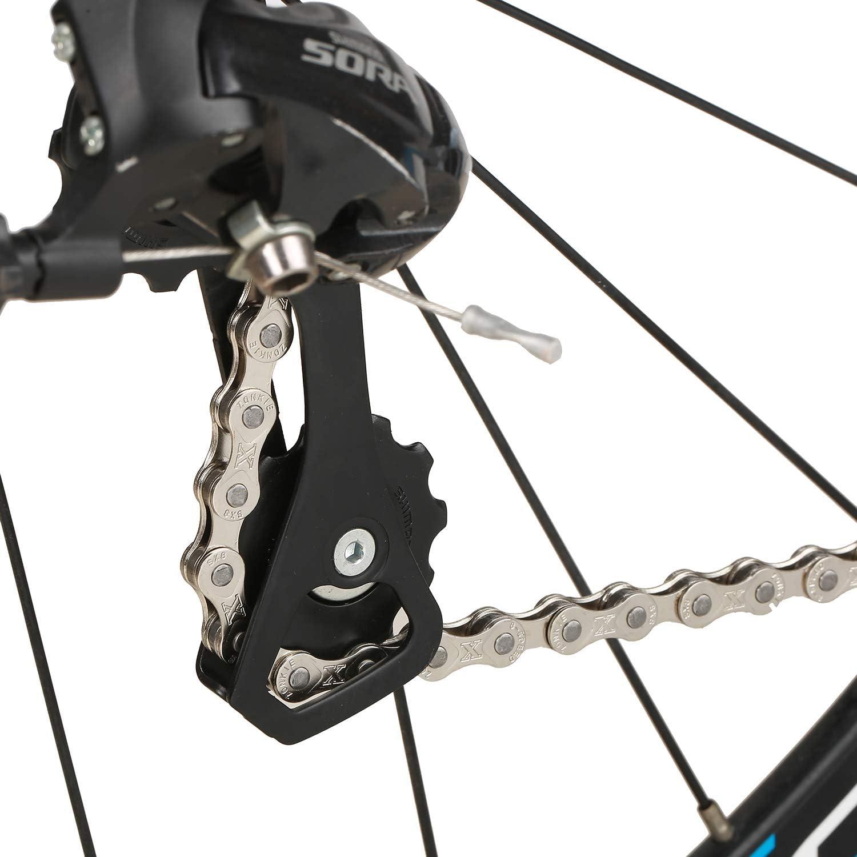 120 eslabones zonkie Cadena de bicicleta de 5//6//7//8 velocidades 1//2 x 3//32 pulgadas