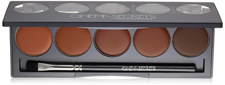 CINEMA SECRETS Pro Cosmetics Ultimate Foundation 5-In-1 Pro Palette, 100 Series