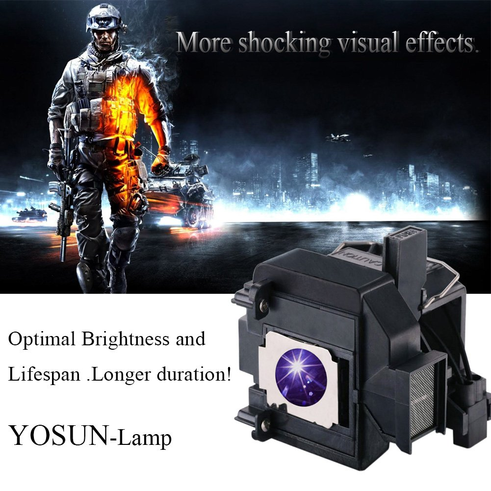 YOSUN Replacement Projector Lamp Bulb for Epson Elplp69 PowerLite Home Cinema 5020ub 5030ub 5025ub 5020ube 5030ube 5010E Pro Cinema 6030ub 6020UB 6010 4030 v13h010l69 Replacement Projector Lamp Bulb by YOSUN (Image #5)