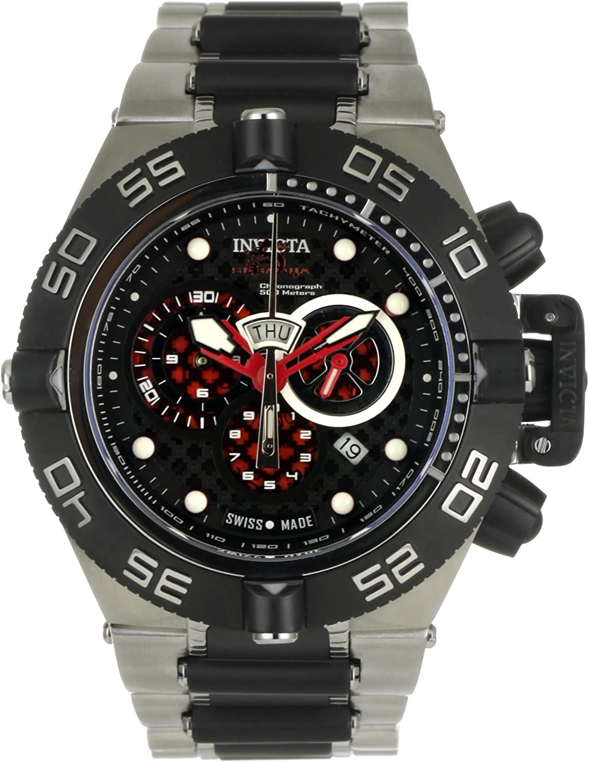 Invicta Men s 6550 Subaqua Noma IV Collection Chronograph Stainless Steel Watch