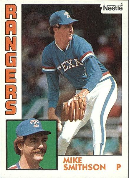 1984 Nestle 792 89 Mike Smithson Baseball Card