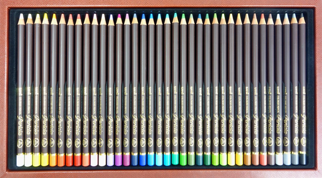 Mitsubishi Pencil Co., Ltd. colored pencil Uni colored pencil Perishia 12 colors set UCPPLC36C by Mitsubishi Pencil Co., Ltd. (Image #4)