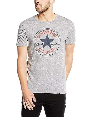 d71562074fc Amazon.com  Converse Chuck Taylor All Star Men s Patch Logo T Shirt ...