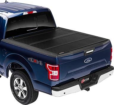 Amazon Com Bak Bakflip Fibermax Hard Folding Truck Bed Tonneau Cover 1126329 Fits 2015 2020 Ford F150 5 7 Bed 67 1 Automotive