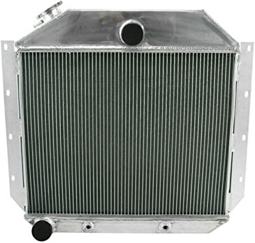 3 Row for aluminum radiator International Harvester Truck 1951-1957 1952 1953 54