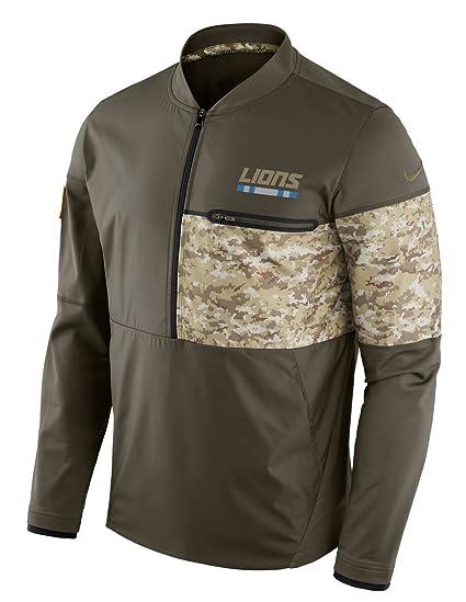 Detroit Lions NFL Salute to Service Sideline Men s Hybrid Jacket (X-Large) af273c42f