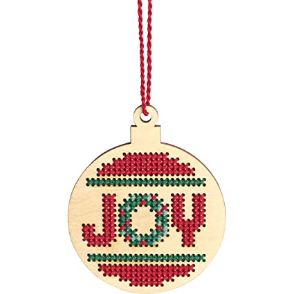 Amazoncom Dimensions 72 76056 Counted Cross Stitch Joy Wooden