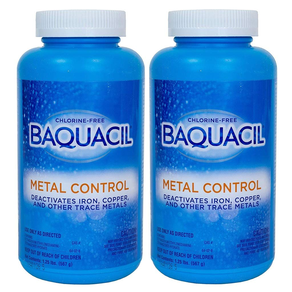 Baquacil Metal Control - 1.25 lbs. - 2 Pack