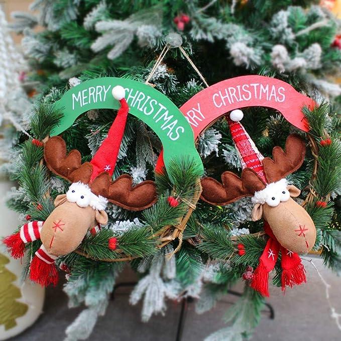 KaloryWee árbol de Navidad Colgante árbol de Fiesta Decor ...