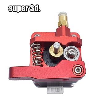 Impresora 3D - Impresora 3D partes MK8 extrusor de aleación de ...
