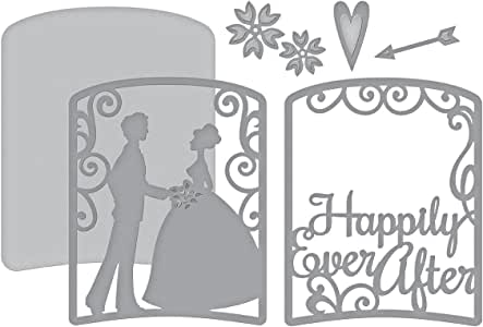 Spellbinders Shapeabilities Layered Happily Ever After Etched/Wafer Thin Die