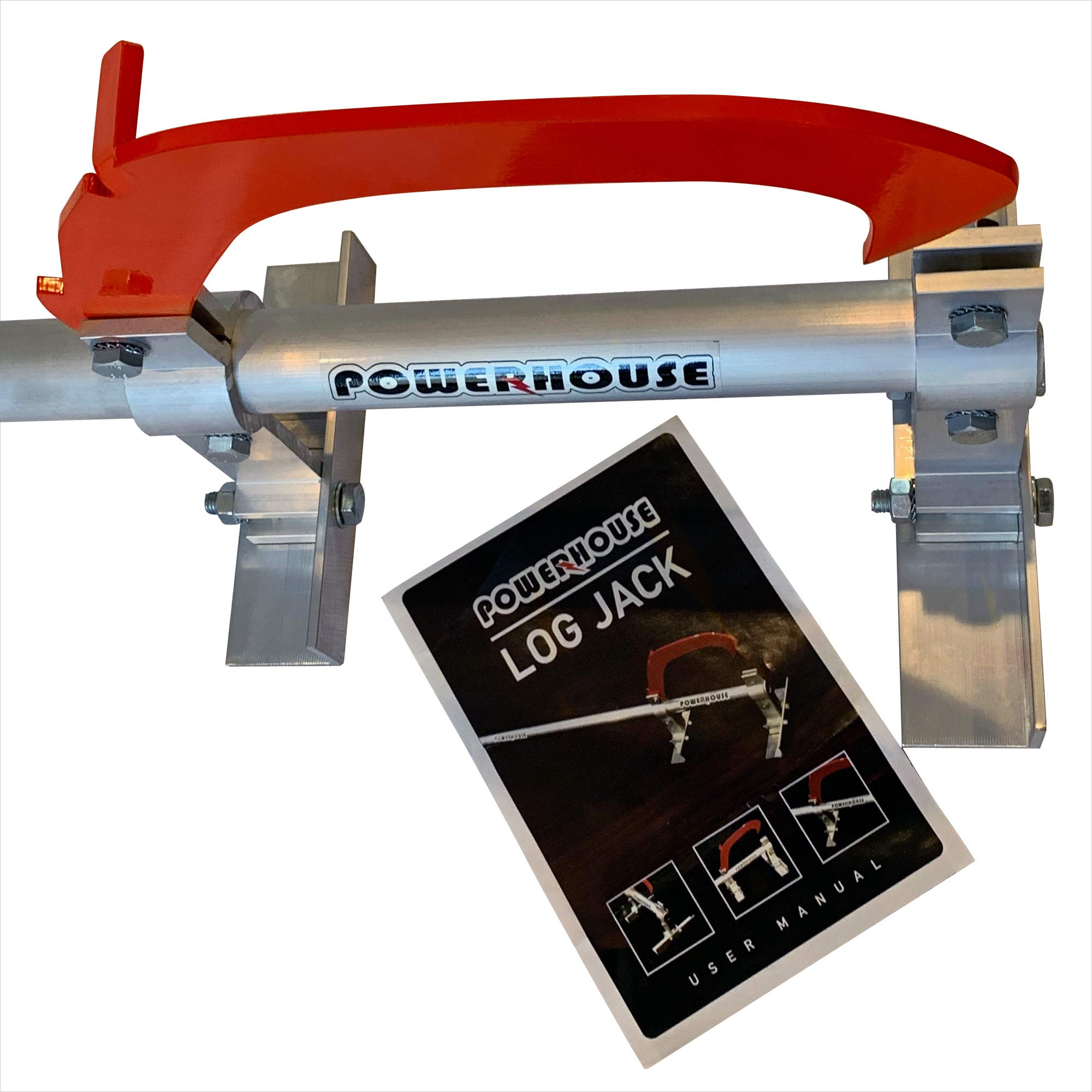 Powerhouse Log Splitters LJ-101 Log Jack, Silver by Powerhouse Log Splitters