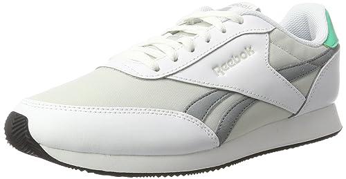 Reebok Royal Classic Jogger 2, Zapatillas de Running para Mujer, Blanco (HS-White/Skull Grey/Flint Gry/Bri Emeral), 36 EU: Amazon.es: Zapatos y complementos