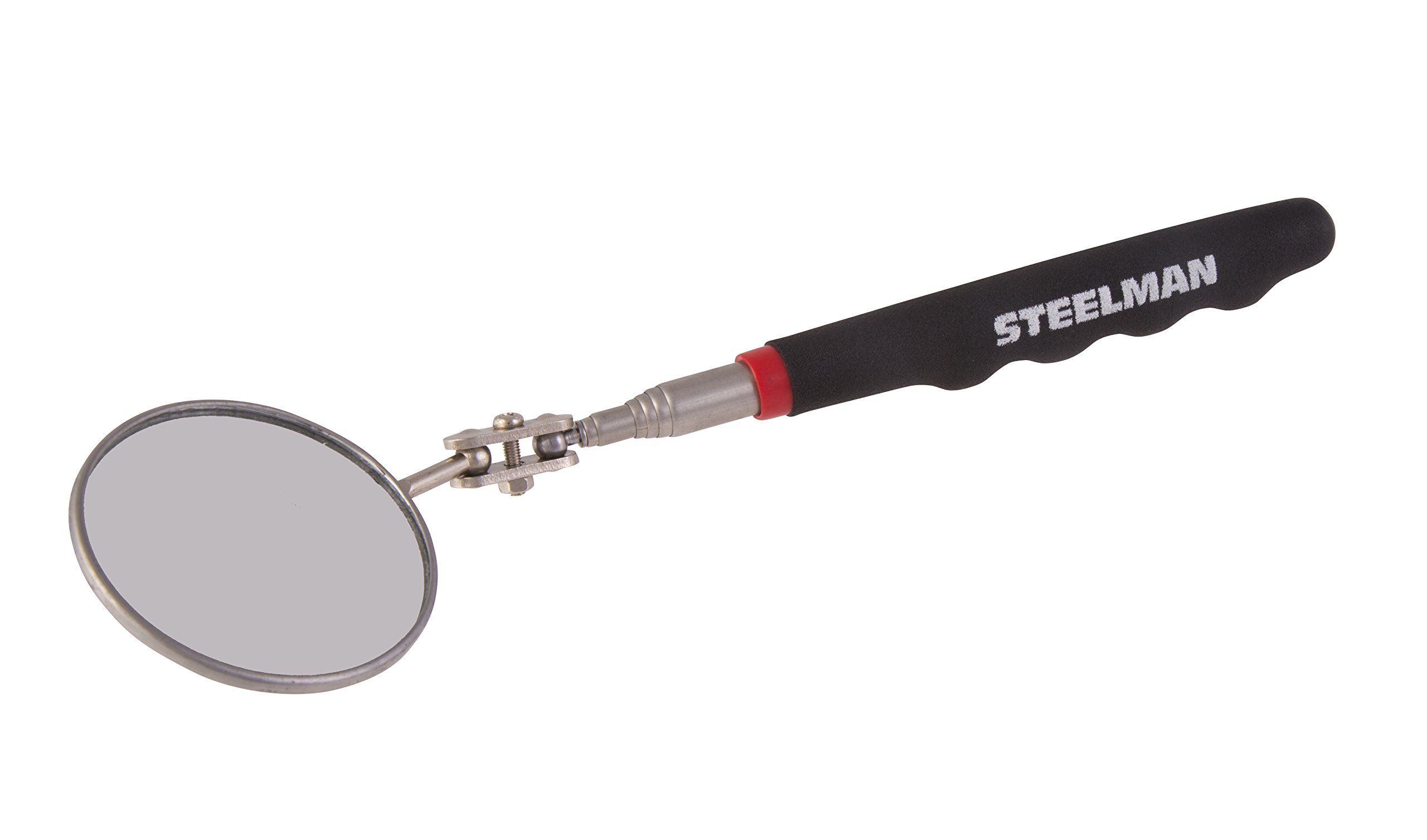 STEELMAN 41819 36-Inch Telescoping 2.25-Inch Round Inspection Mirror