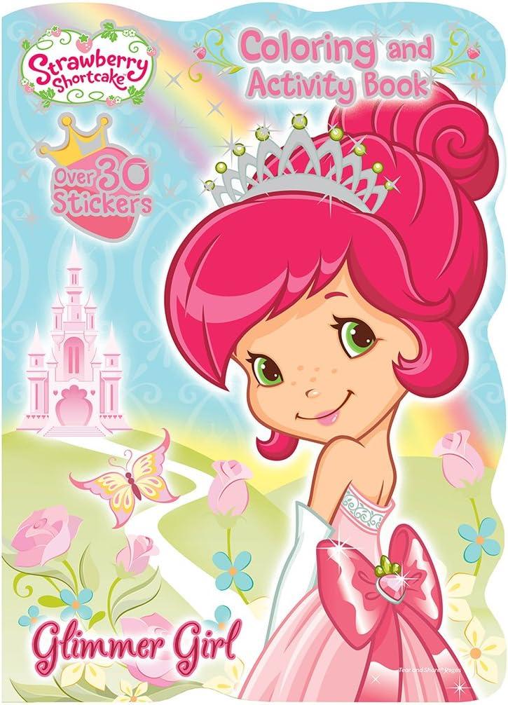 Amazon.com: Bendon Strawberry Shortcake Super Fun Coloring Book: Toys &  Games