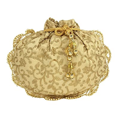 Purse Collection Attractive Embroidery Antique