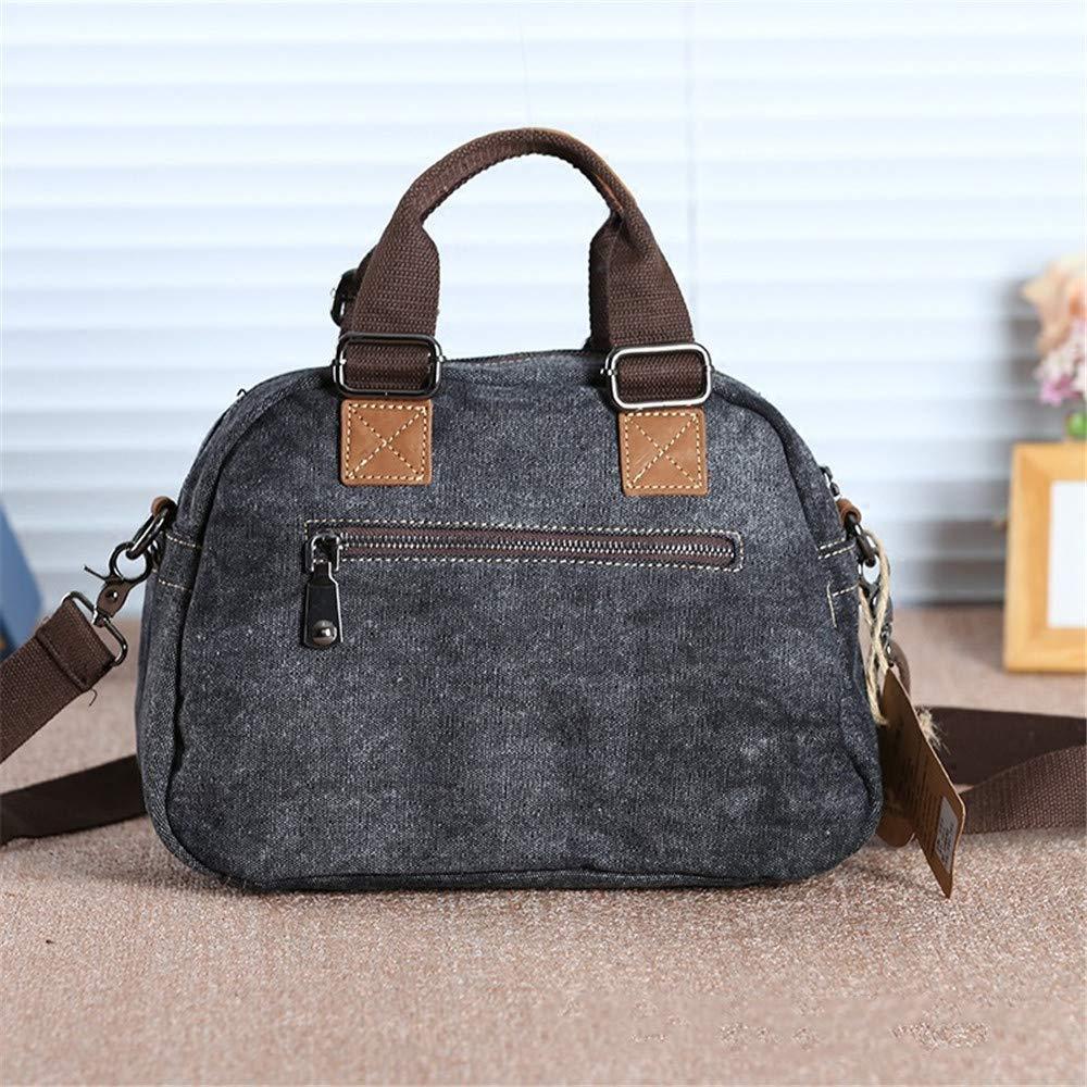 Handmade Crossbody One Shoulder Retro Vintage Ethnic Dark Denim Jean Canvas Chinese Style Leisure Unisex Messenger Bag