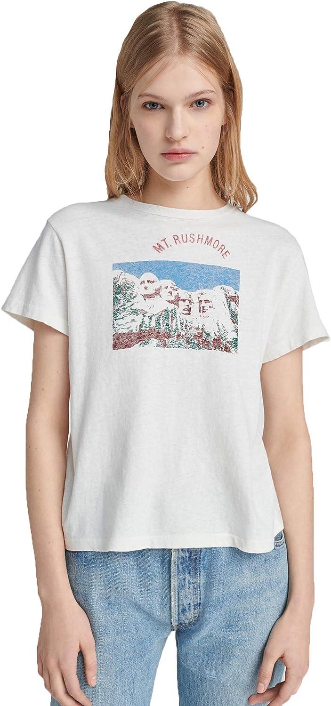 Classic tee MT. Rushmore - Vintage, Color Blanco - - Large: Amazon.es: Ropa y accesorios