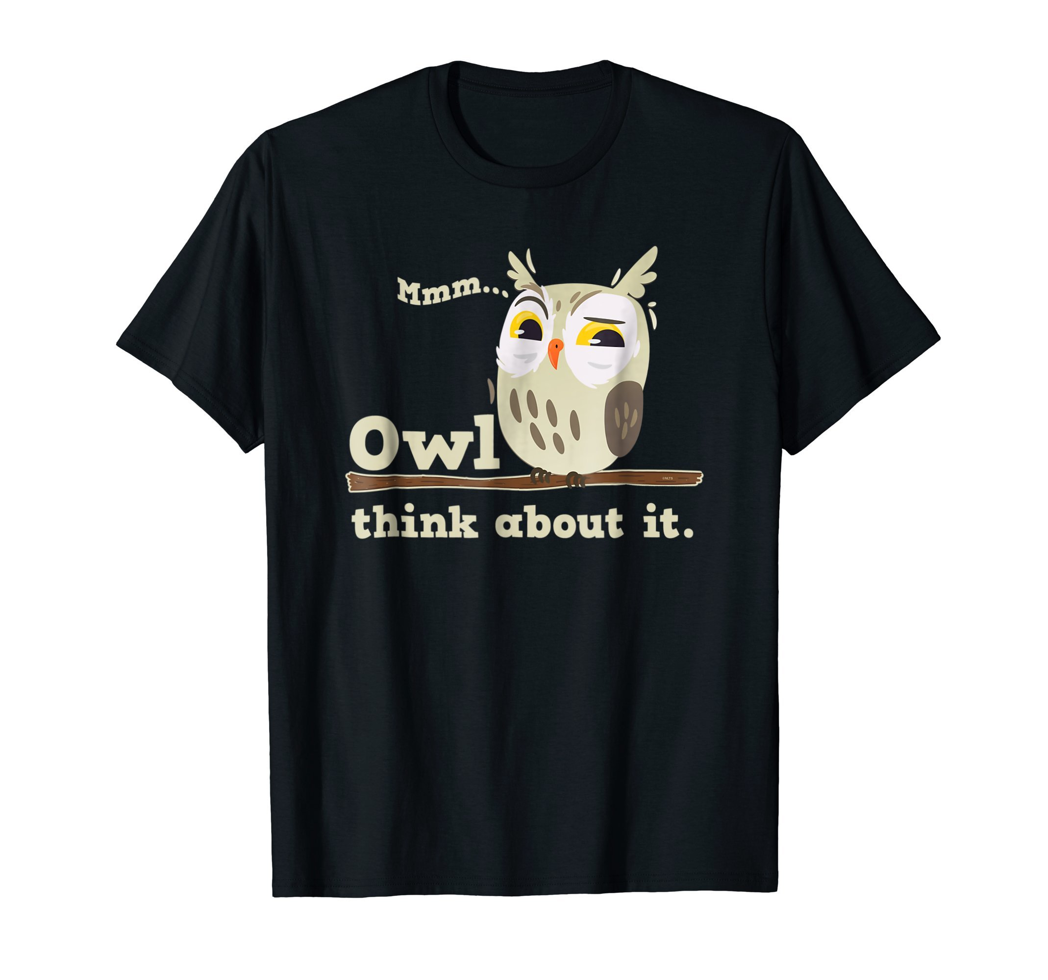 Owl-think-about-it-Owl-Funny-Humor-Cute-T-Shirt-Tee-Shirt