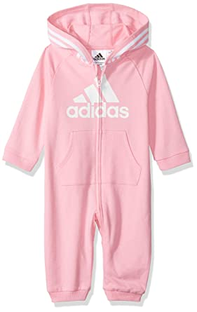 51b9406cd Amazon.com: adidas Baby Girls and Baby Boys Coverall: Clothing