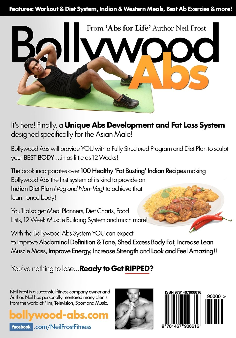 veg diet chart for abs for male: Bollywood abs the 12 week diet workout plan to get that lean