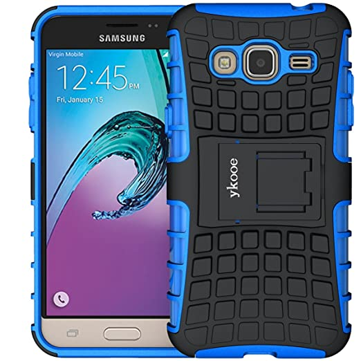 ykooe Funda Galaxy J3, Samsung j3 (2015/2016) Teléfono Híbrida de ...