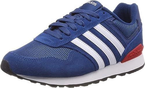 Tableta Sacrificio en frente de  adidas Herren 10k Laufschuhe, blau/weiß: Amazon.de: Schuhe & Handtaschen