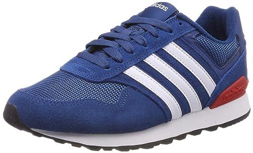 sells 100% high quality price reduced adidas Herren 10k Laufschuhe, blau/weiß