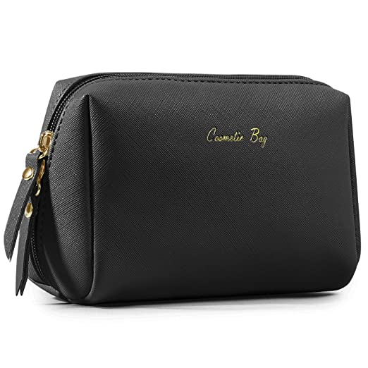 Busy Bee Synthetic Cosmetic Pouch  Black_BB MB 01  Toiletry Kits