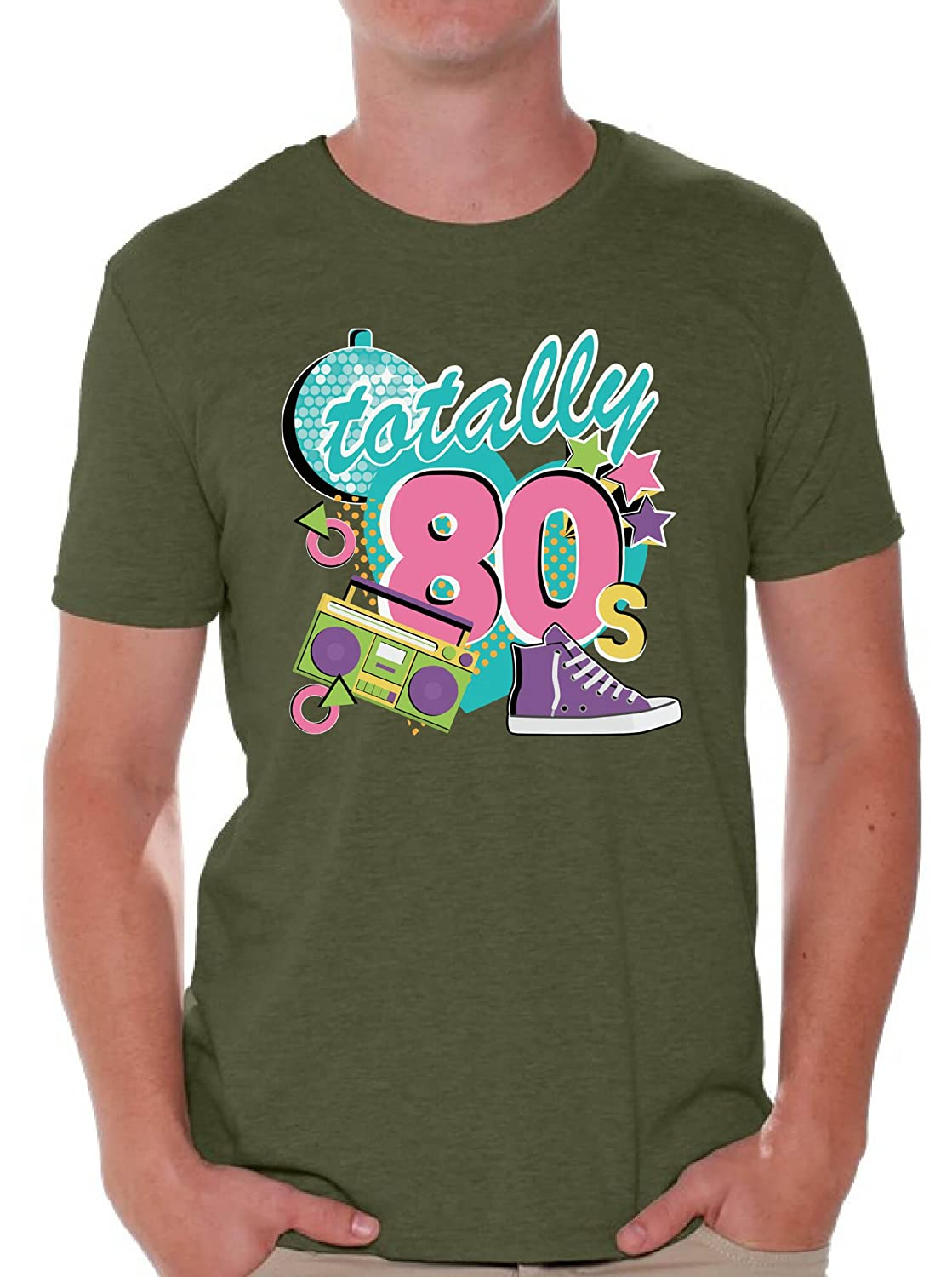 ebacd9844f72 Amazon.com: Awkward Styles 80s Shirts 80s Tshirts 80s Accessories for Men  80s Party Disco: Clothing