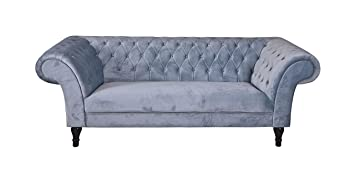 Unbekannt Lujo sofá XXL Terciopelo sofá Hollywood sofá ...