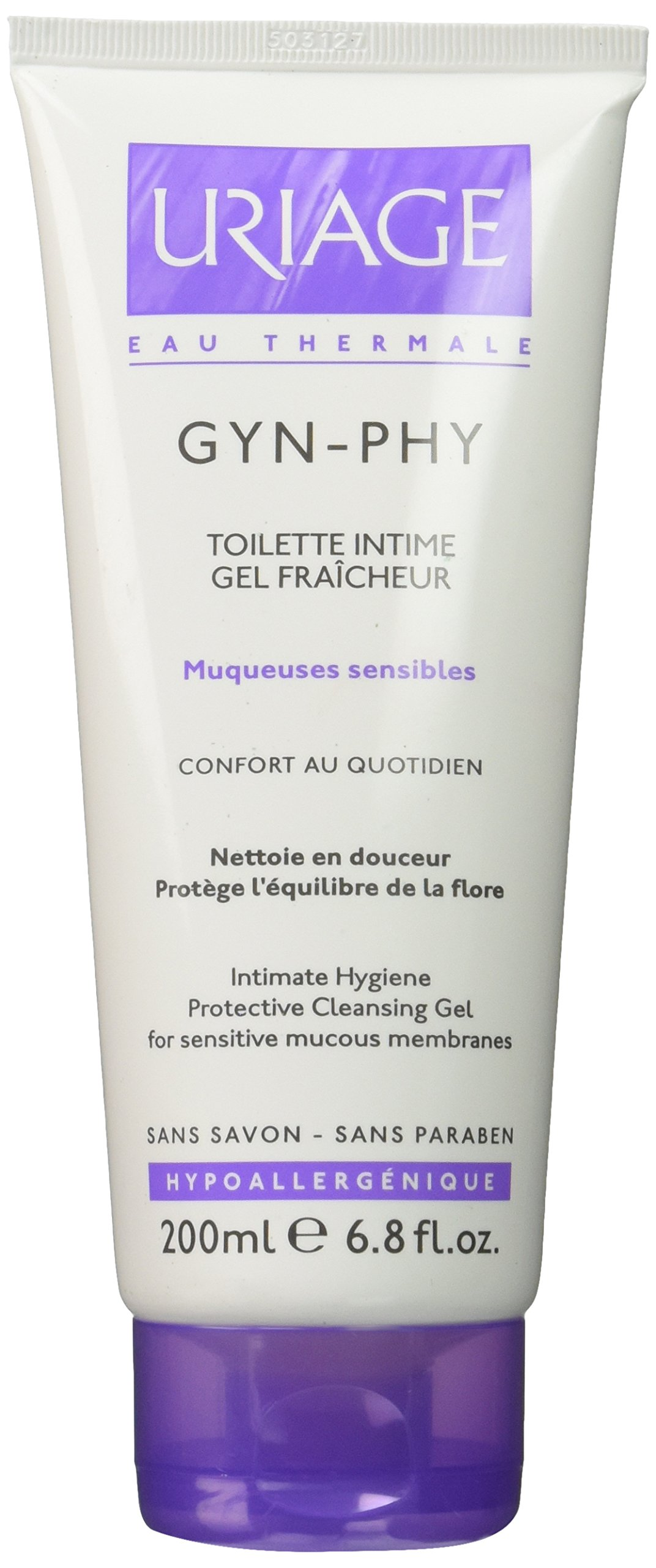 Uriage Gyn-phy Intimate Hygiene Protective Cleansing Gel for Sensitive Mucous Membranes 200 Ml