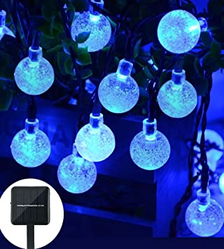 Amazon.com : Christmas Solar String Light 20ft 30LED Fairy String ...