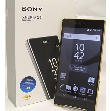 sony xperia z5 premium gold. sony xperia z5 premium e6853 4g 32gb gold unlocked