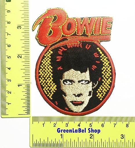 David Bowie Rock gm Rock Art Rock Pop de la música rock parche ...