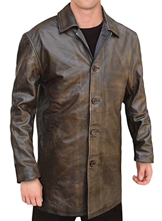 Obx Fashion Dean Winchester Supernatural Distressed Brown Real