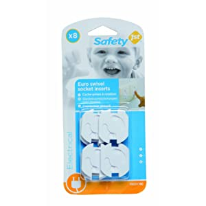 Safety 1st 8 Cache Prises Avec Rotation