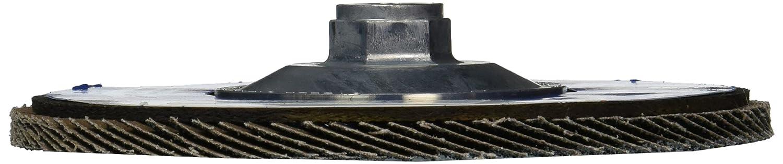 5//8-11 Arbor 8600 RPM Phenolic Backing Pack of 10 Zirconia Alumina 60 Grit 7 Diameter Type 27 Flat Style Weiler 51142 Tiger Paw High Performance Abrasive Flap Disc