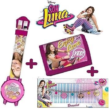 cartera y reloj digital SOY LUNA+ Pulsera Disney soy Luna: Amazon.es: Juguetes y juegos