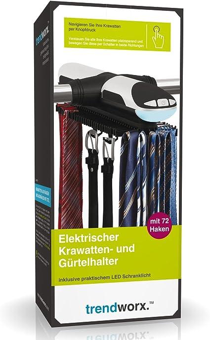 H/ängeorganizer f/ür G/ürtel und Krawatten Silberfarben 2pcs Blau ZriEy Krawattenhalter mit 8 Haken Kleiner G/ürtelhalter aus verchromtem Metall
