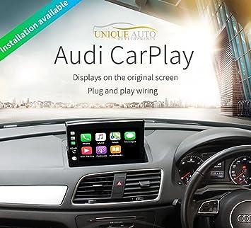 CarPlay Navigation Reversing Camera Interface Audi Q3 2011-18 GPS